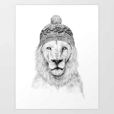 Winter is coming Art Print by Balázs Solti - $14.00