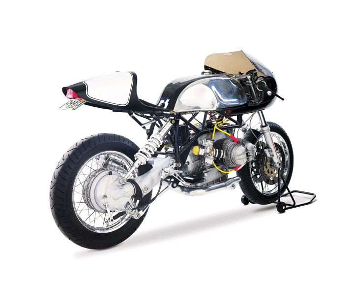 This is where we put the soft well .... BMW Cafe Racer - Page 3