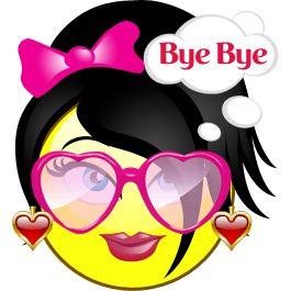 Quebles emoticon Bye Bye
