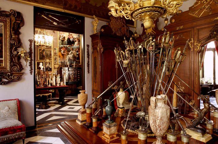 Museo Cerralbo. Salón Vestuario