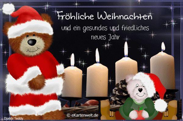 Fröhliche Weihnachten und ein gesundes und friedliches neues Jahr ...