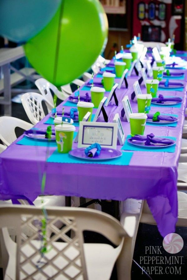 Blue Party Decorating Ideas best 25+ purple birthday decorations ideas on pinterest | purple