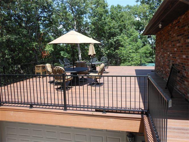 14 best deck over carport images on pinterest decks for Deck over garage designs