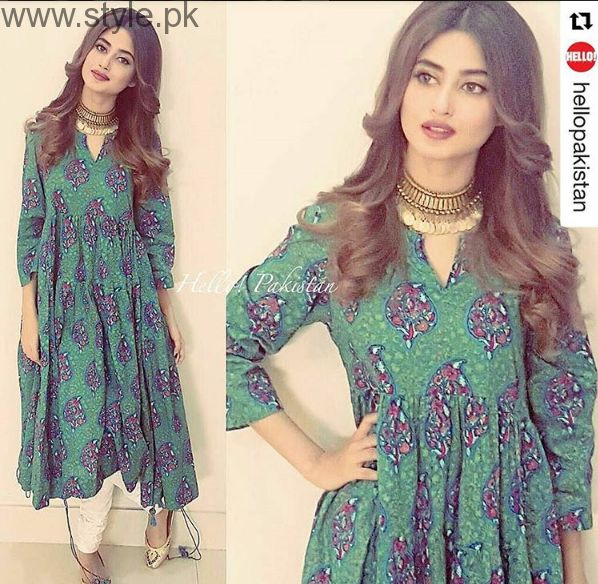 Sajal Ali's 10 Best Dresses (8)