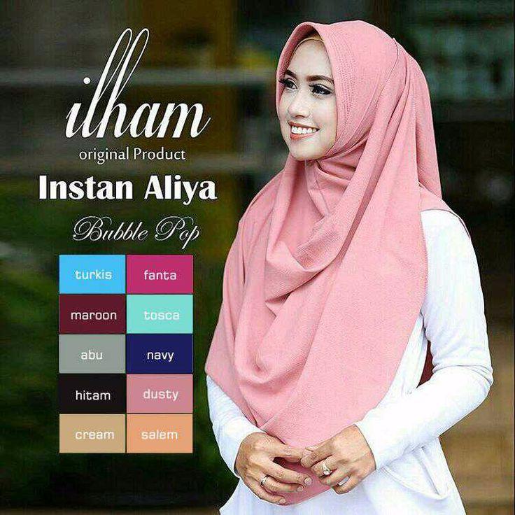 Jilbab Hijab Instan Aliya Pad Jilbab Hijab Instan Aliya Pad mempunyai keterangan produk sebagai berikut ini : Jilbab/Hijab ini menggunakan Bahan bubble crepe diamond Jilbab/Hijab ini beraplikasi jilbab pastan langsung pakai Jilbab/Hijab ini jilbab instan bergonya tanpa memakai KATALOG... Jilbab Hijab Instan Aliya Pad http://www.maudyhijab.com/jilbab-hijab-instan-aliya-pad.html TANYA-TANYA DAN ORDER Silahkan Klik ➡ http://bit.ly/AdminMAUDYHIJAB PIN
