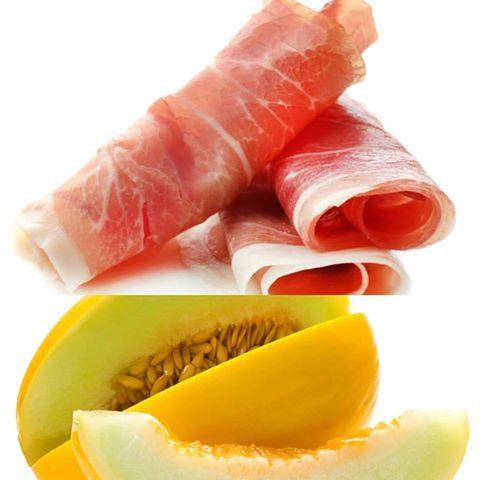 Melone e Prosciutto! Pranzate con noi!