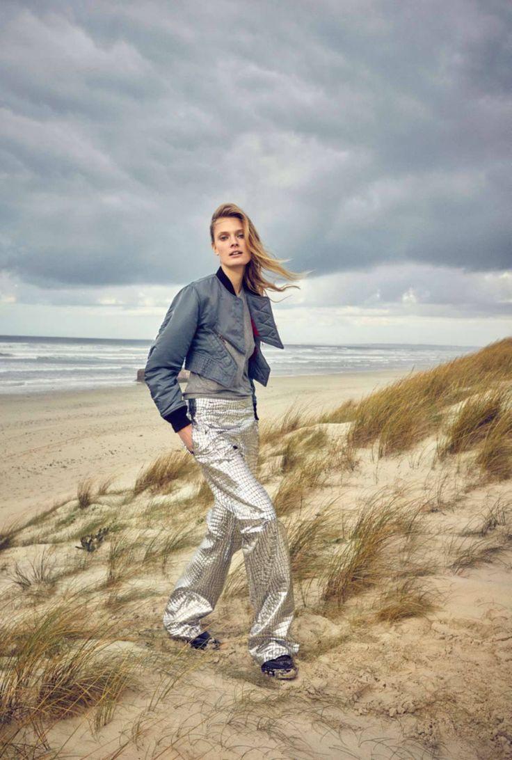 Un Songe En Hiver: Constance Jablonski by Gilles Bensimon for Elle France January 2016