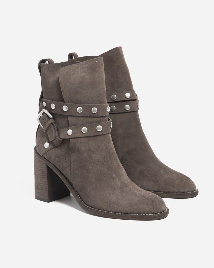 See by Chloe Buffalo Studded High Heel Boot