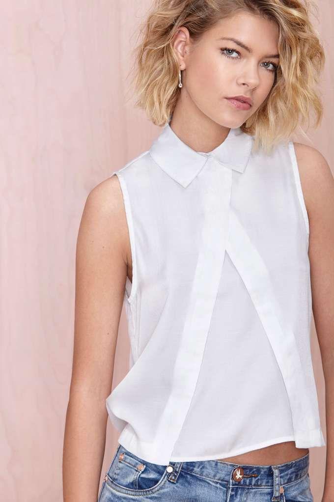 белая блузка на лето фото
