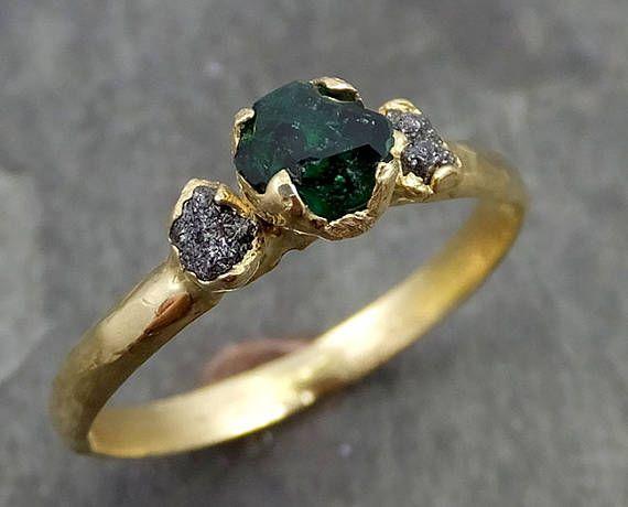 parcialmente facetado Esmeralda diamantes gratis amarillo de