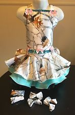 National Pageant True Timber Snowfall Camo Casual Wear  Size 18mos-3t