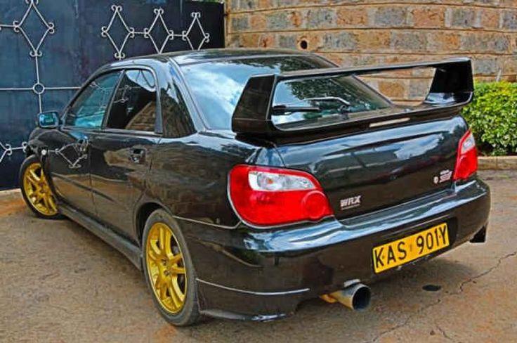 2003 Subaru Impreza Wrx Sedan Subaru Impreza Wrx Subaru