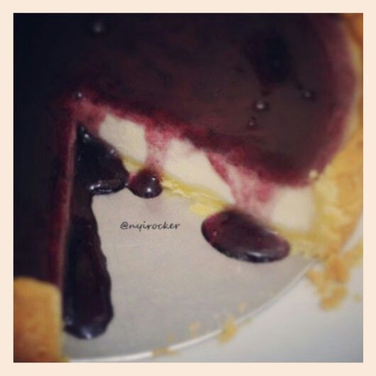 Pie Cheese Blueberry