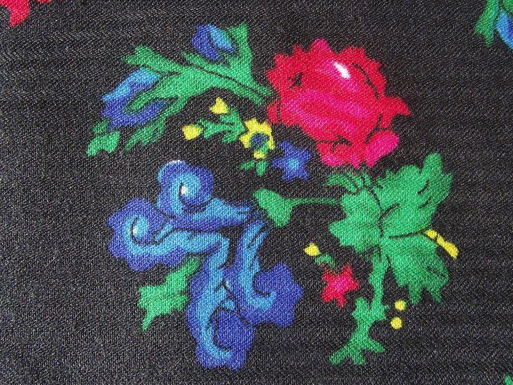 Beautiful russian scarf Floral Shawl Vintage Ukrainian Romanian scarf old shawl Soviet Shawl romanian style women perfect gift for her Rare by RussianshawlMayya on Etsy