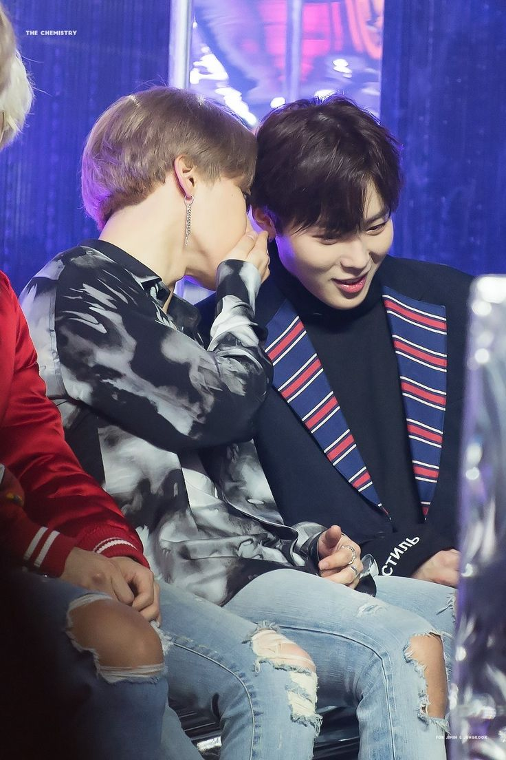 BTS Jimin & WannaOne Sungwoon, Close friend