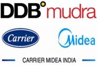 News Flash: DDB Mudra wins creative duties of Carrier Midea India; Mandate to launch Midea brand in India; Carrier Midea India is a JV between Carrier Corporation  and GD Midea Holding