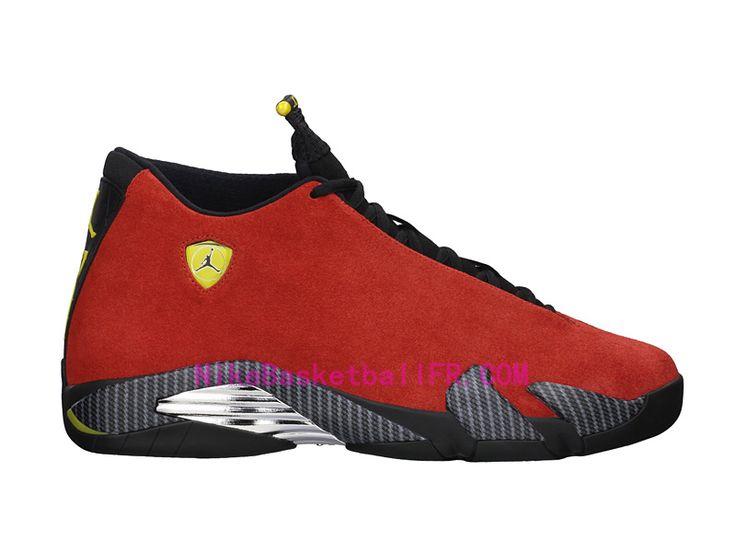 Nike Air Jordan 14 Ferrari Rouge Pas Cher 654459-670 - NikeBasketballFr.com  Chilling