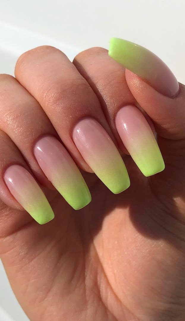 50 Amazing And Summer Ombre Nail Design Ideas For 2019 Page 35