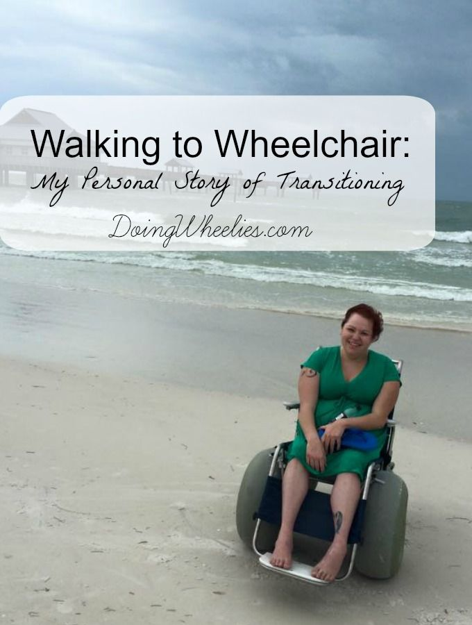 Walking to Wheelchair - A Personal Story of Transitioning to using a wheelchair full time, because of Limb Girdle Muscular Dystrophy type 2A