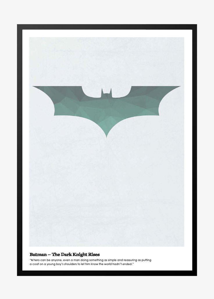 Batman – The Dark Knight  Denne plakat er virkelig lækker der er i designet indlagt slidtage sog giver plakaten et super fedt udtryk. Plakaten fås i 4 størrelser.