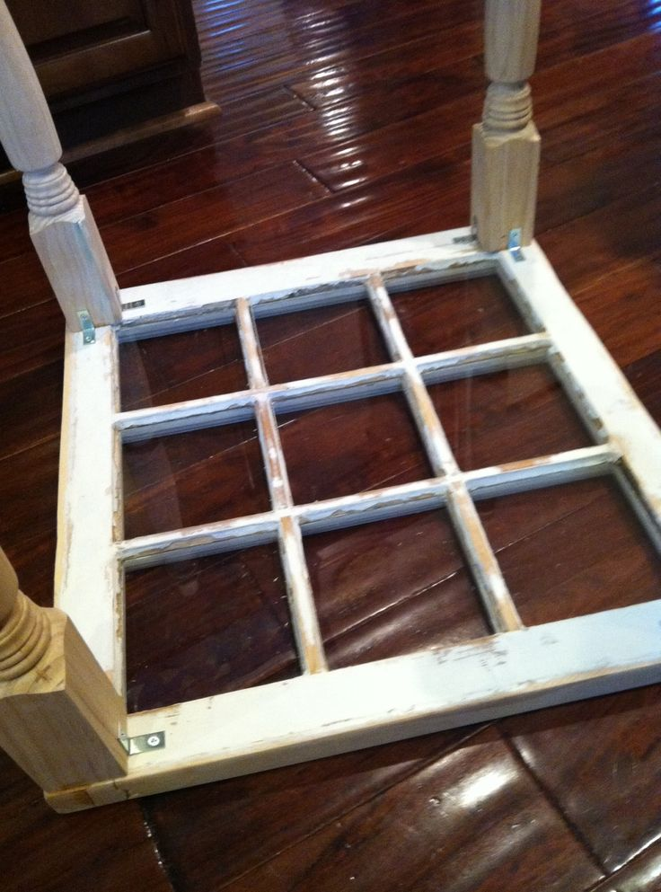 window to coffee table