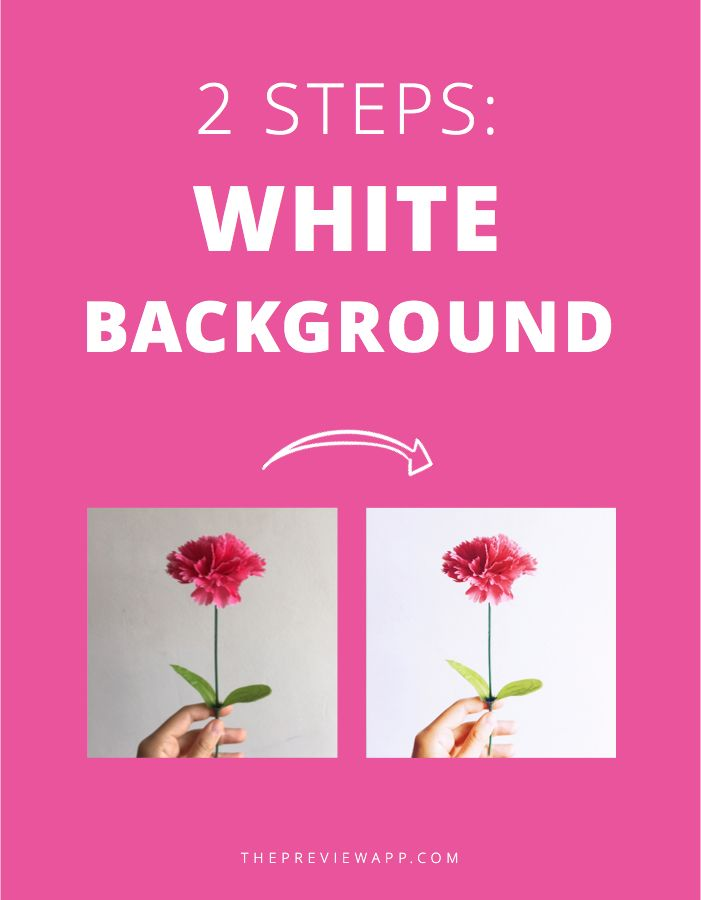 Follow these 2 simple steps to make white background for Instagram photos. You only need ONE app and less than 5 minutes.