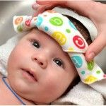 Baby Cradle Cap Treatment with Baby Oil and Shampoo