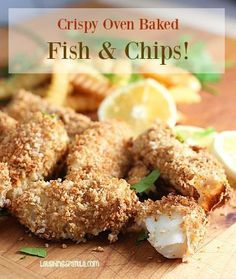 Crispy Oven Baked Fish and Chips