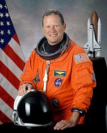 David McDowell Brown (April 16, 1956 – February 1, 2003) was a United States Navy captain and a NASA astronaut. He died on his first spaceflight, when the Space Shuttle Columbia (STS-107) disintegrated during orbital reentry into the Earth's atmosphere. Brown became an astronaut in 1996, but had not served on a space mission prior to the Columbia disaster.