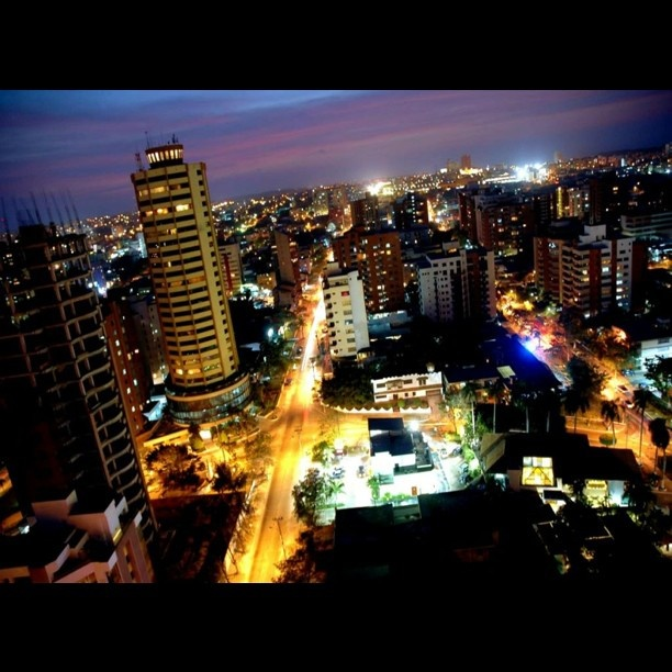 Beautiful Night at #Barranquilla #Colombia my #Hometown