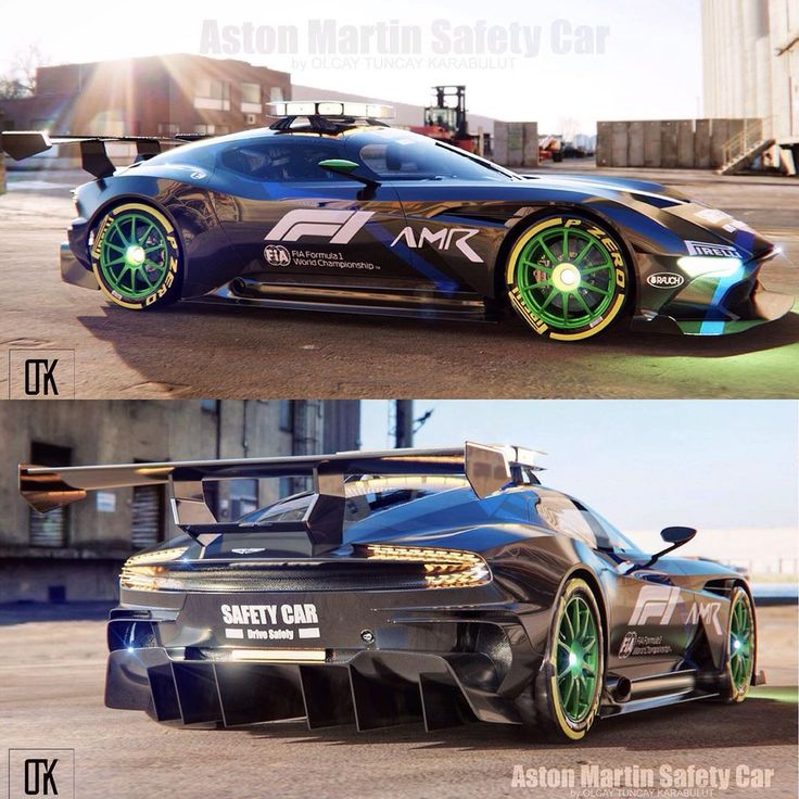 Aston Martin F1 Safety Car Concept. What do you think