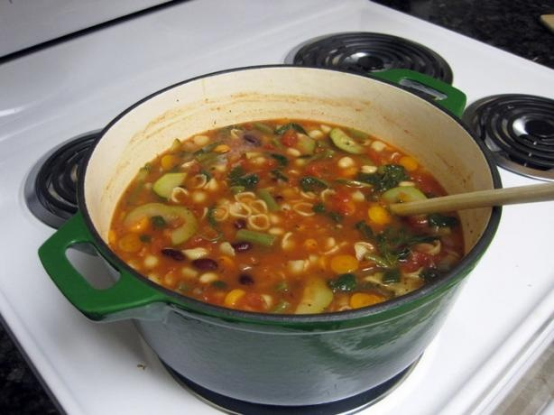 Copycat Olive Garden Minestrone Soup By Todd Wilbur Recipe - Food.com - 77585