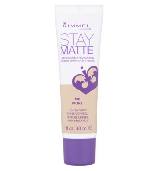 Rimmel Stay Matte Foundation| Feather light, mousse for flawless skin - Boots