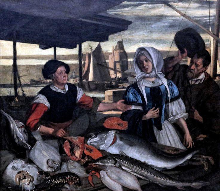 Emanuel de Witte. 1617- 1692. Amsterdam. Fish market. 1672. Rotterdam. Boijmans van Beuningen.