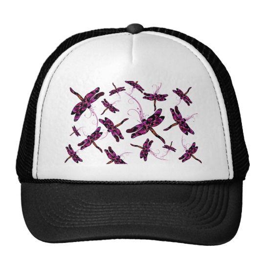 Whimsical Dragonflies Trucker Hat