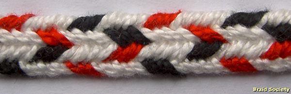 Ingrid Crickmore finger loop braiding