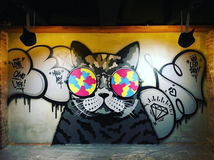 Best Street Art Gatti Images On Pinterest Graffiti And Scotland - Spanish street artist transforms building facades into amazing artworks
