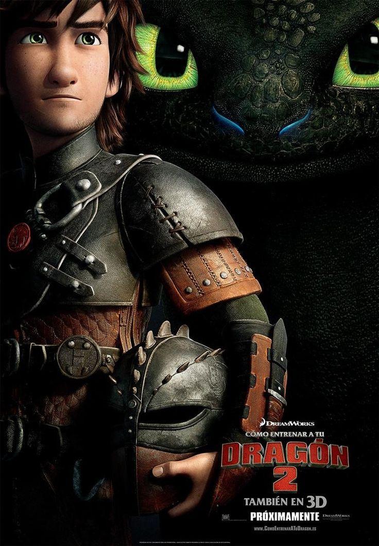 Cartel Teaser España de 'Cómo entrenar a tu dragón 2'