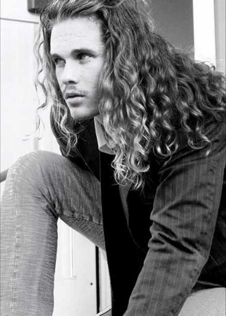 Pleasing Long Curly Hair Men Guide With Pictures Hairstyles Products Short Hairstyles Gunalazisus
