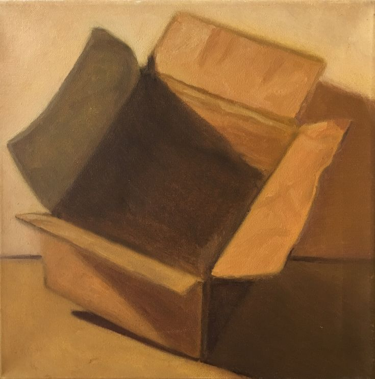 P #4-2. 12x12. Oil on Canvas. 2017