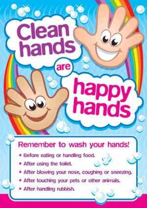 13 Best Good Hygiene Posters And Stickers For Kids Images