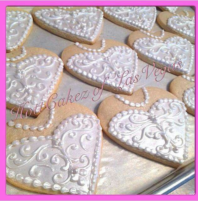 206 Best Images About Wedding Cookie Favors On Pinterest