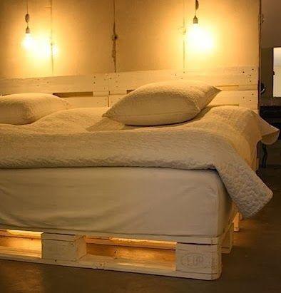 Κρεβάτια από παλέτες (DIY) ~ Επιστροφή στη φύση
