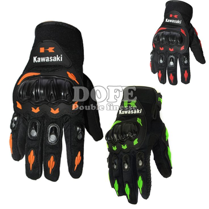 Man And Woman Kawasaki Full Finger Guantes Motorcycle Gloves Motorbike Luva Moto Motocicleta Motocross Guantes Gloves…