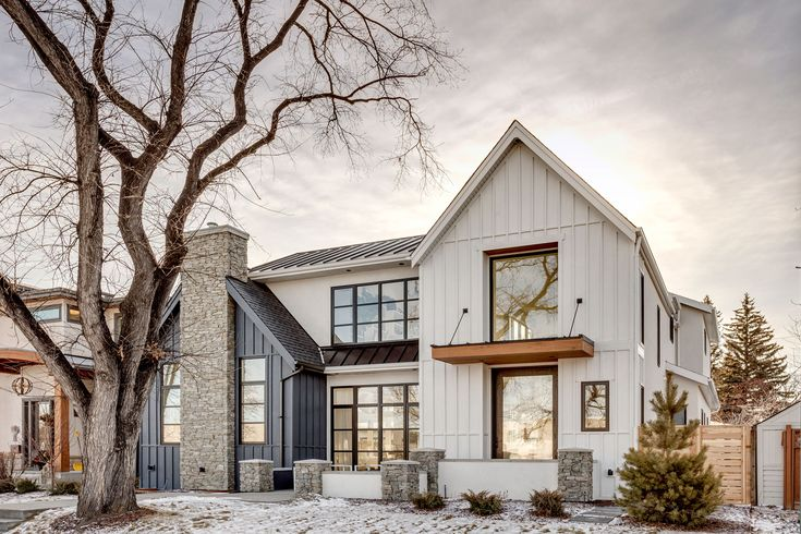 Roofing and canopy details – modern farmhouse styl…