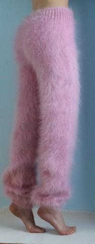 Mohair pants. Pinning this because my favorite childhood  Barbie wore these pants. So Rad of me.