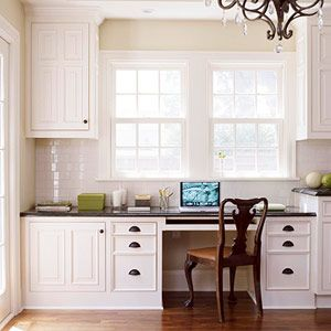 I would LOVE to have a built-in desk nook
