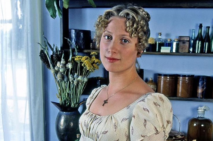 Jane Bennet, Pride & Prejudice | Susannah Harker (P 1995) it's like the face if your sister. I can't even stand it.