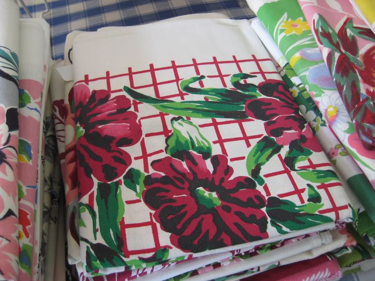 How to clean vintage table cloths
