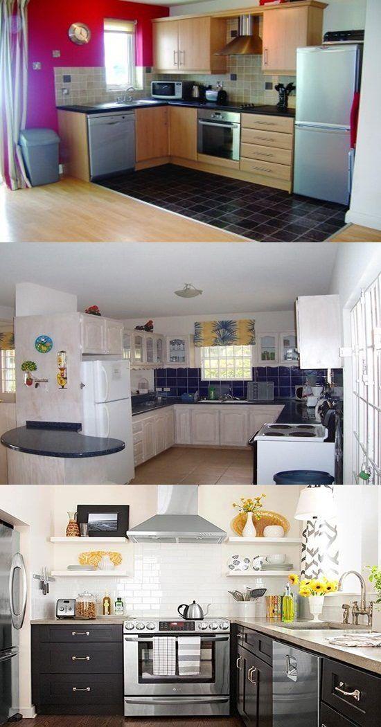 Mejores 2027 imágenes de kitchen island en Pinterest | Diseños de ...